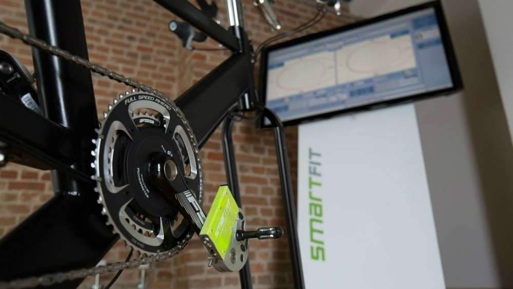 Smartfit Powerforce System to measure pedalforces